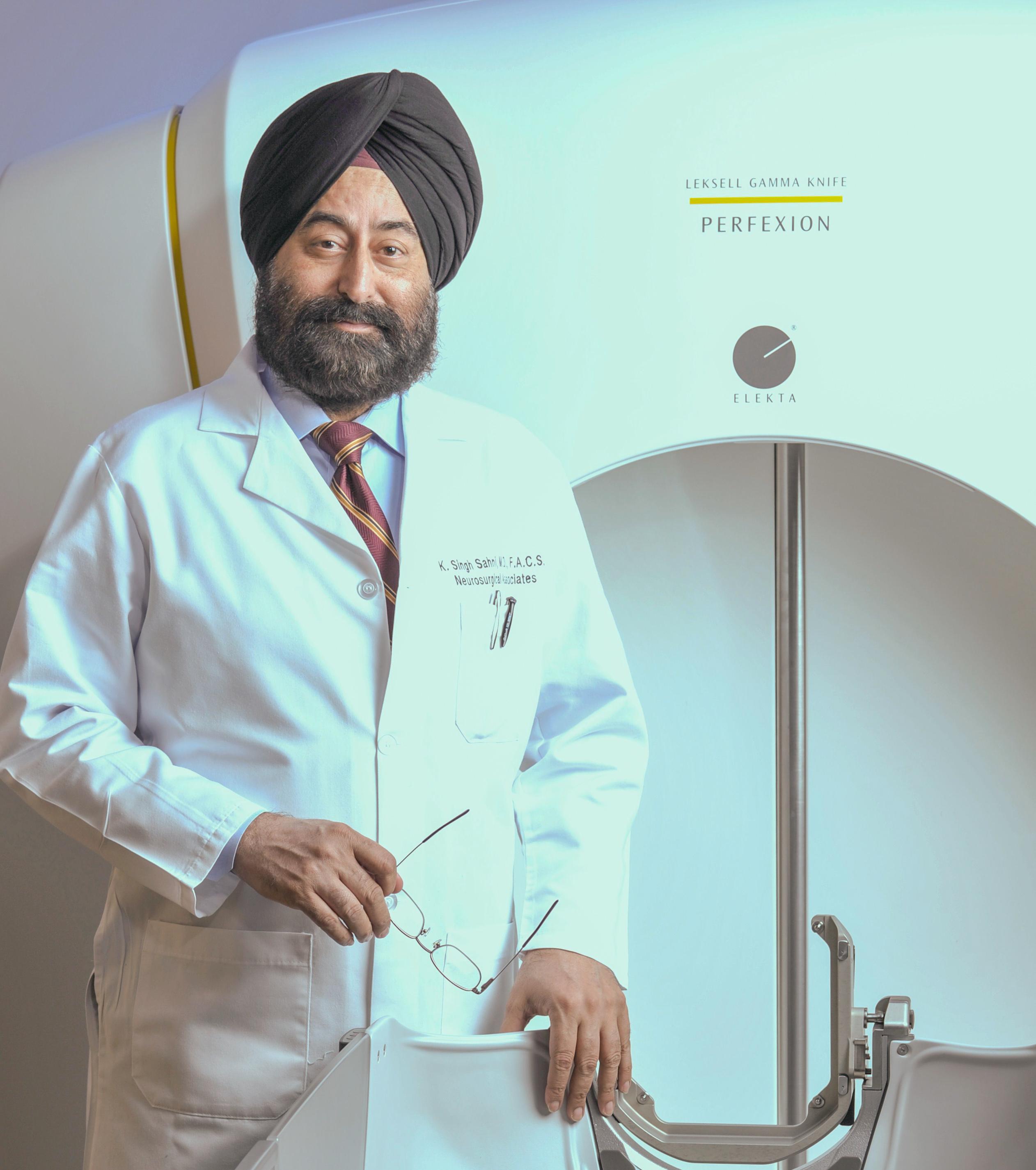 K. Singh Sahni, M.D., FACS